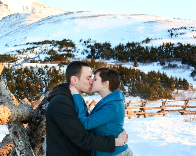 Kamrin and Michael Anchorage Alaska Engagement Photo Session B-Weiss Photography-056