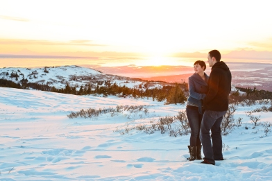 Kamrin and Michael Anchorage Alaska Engagement Photo Session B-Weiss Photography-074
